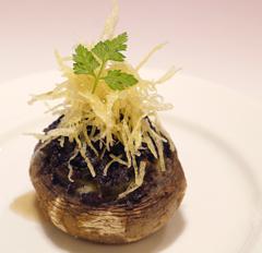 マッシュルーム丸ごとオーブン焼き.JPG