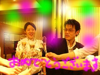藤次さんシニア合格祝い 乾杯.JPG