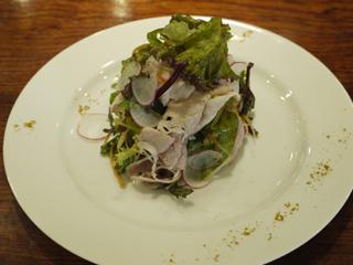香味野菜と豚しゃぶのサラダ~カレー風味~.JPG